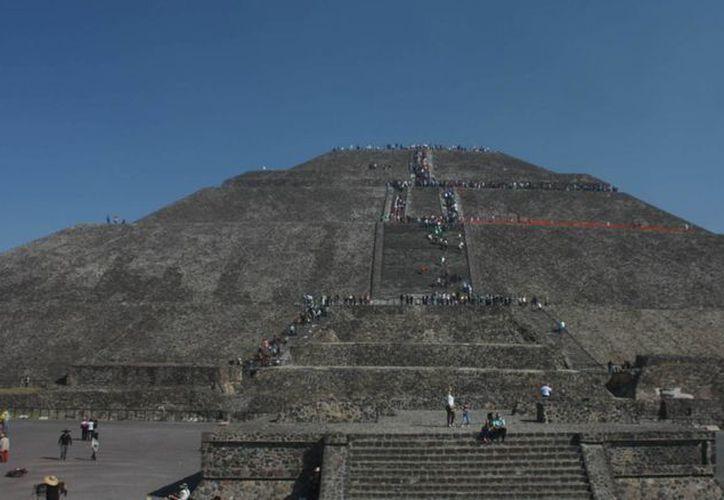 La ceremonia del Fuego Nuevo se realizará en la zona de Teotihuacán, en el Estado de México. (Archivo/Notimex)
