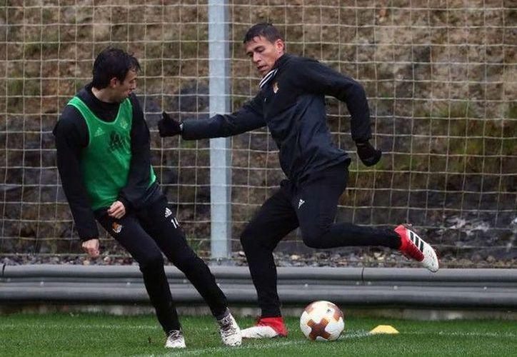 Héctor no fue convocado para el duelo del domingo pasado. (Real Sociedad)