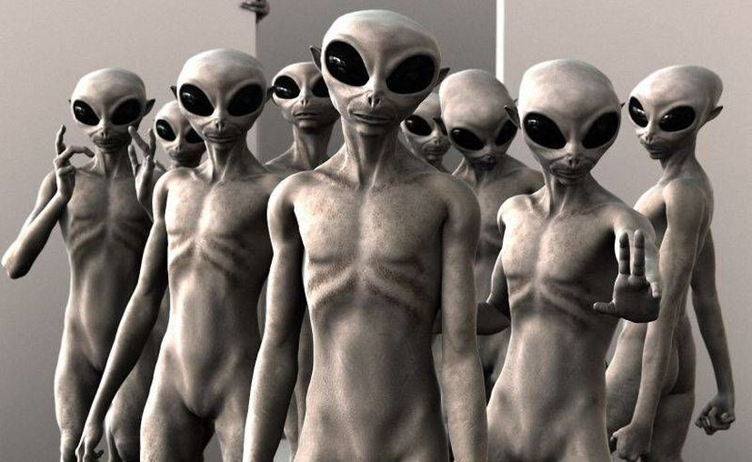 Una de las imágenes más comunes que se manejan sobre seres de otros planetas. (Internet)