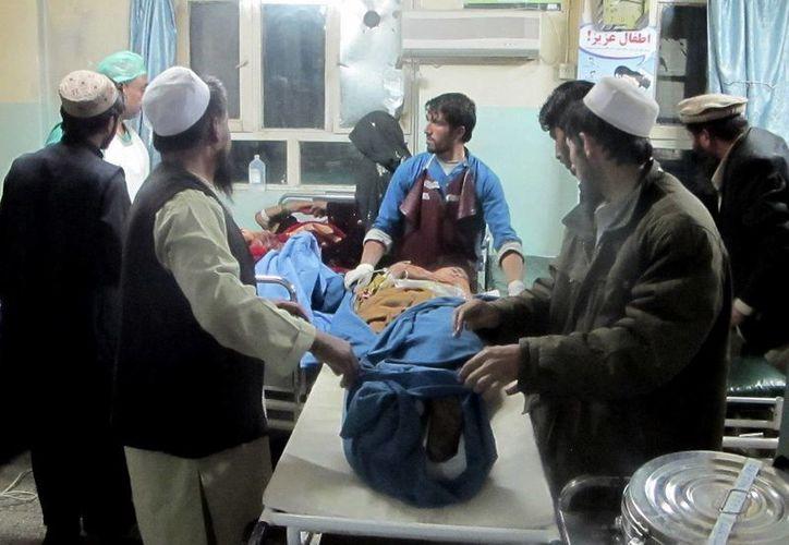 El ataque ocurrió en una zona controlada por el Talibán. (Agencias)