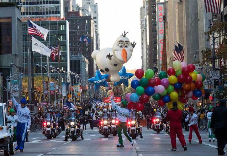 Desde que comenzó el desfile del Día de Acción de Gracias, únicamente quedó interrumpido entre 1942 y 1945. (AP).