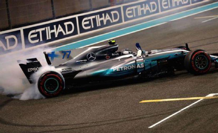 El finlandés Valtteri Bottas  ganó el Gran Premio de Abu Dhabi. (Getty Images).