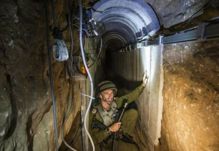 Hamas ha utilizado túneles para burlar los controles fronterizos del Estado judio. (Internet)
