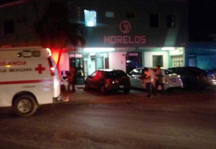 Una mujer llegó por sus propios medios a una clínica privada tras ser herida por su asaltante en el Fracc. Villas Otoch. (Redacción/SIPSE)