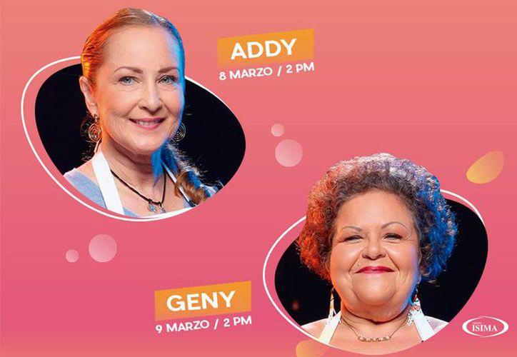 Anuncian firma de autógrafos y clases de cocina con Genny Falla y Addy Ángulo, ambas exparticipantes del reality show Masterchef, en la Plaza de la Mujer.