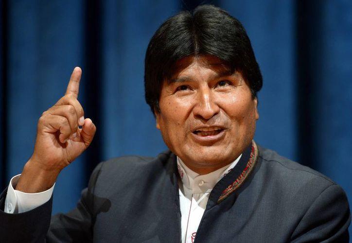 Morales tenía una estrecha relación personal con Hugo Chávez. (EFE)