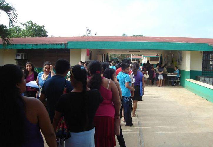 Morelos es uno de los municipios que más se a distinguido con el manejo de las aportaciones voluntarias por no tener conflictos. (Carlos Yabur/SIPSE)