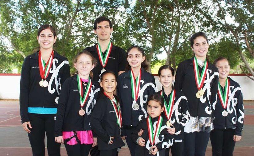 Destaca la selección yucateca de patines sobre hielo, en campeonato nacional. (SIPSE)