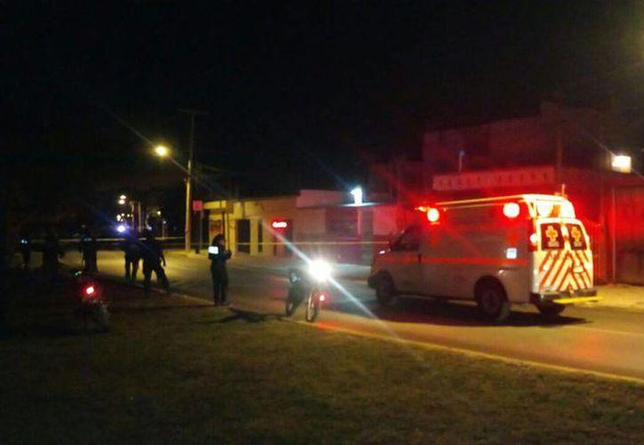 Los elementos policíacos destacaron que en la zona habían aproximadamente 100 cartuchos percutidos. (Inspector nocturno)