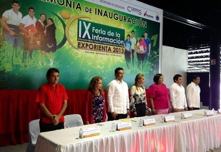 Sara Latife Ruiz Chávez encabezó el comité de inauguración del evento. (Redacción/SIPSE)