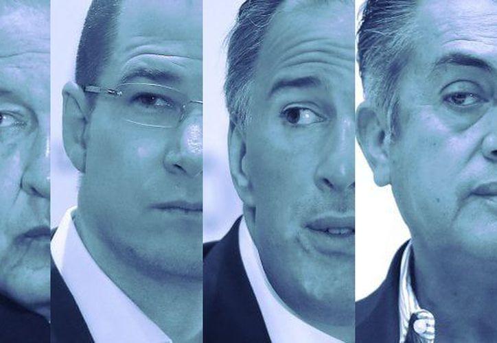 Candidatos presidenciales México 2018. (Foto: Forbes)