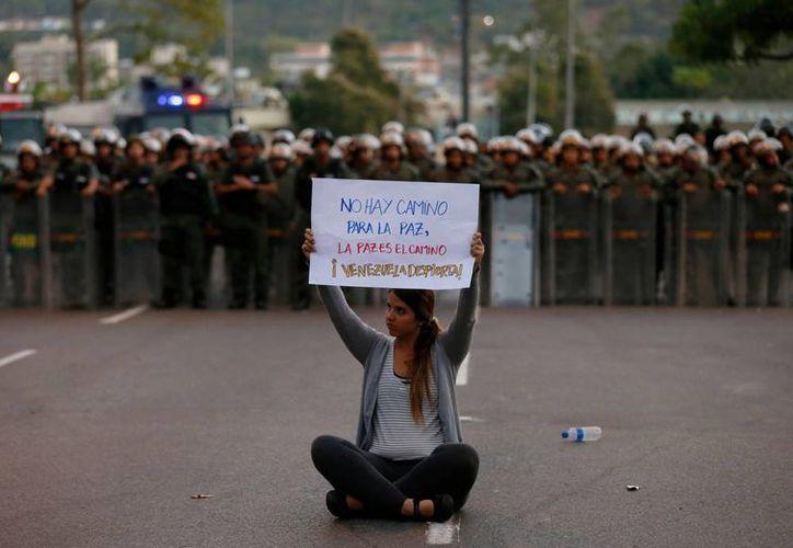 Este domingo continuarán las manifestaciones en Caracas, Venezuela. (Agencias)