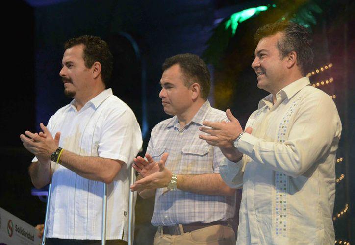 Los tres están inmiscuidos en irregularidades cometidas cuando estuvieron al frente del gobierno municipal. (Adrián Barreto/SIPSE)