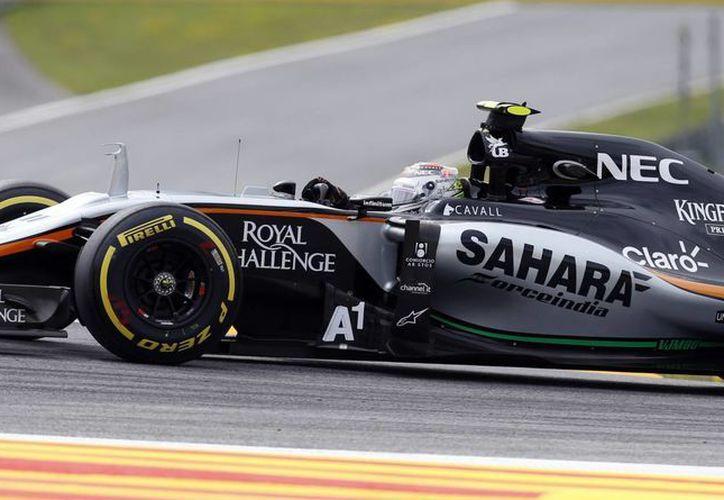 'Checo Pérez' logra rescatar 2 puntos del GP de Austria, y se declara listo para la siguiente carrera en Silverstone. (AP)