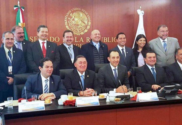 El Alcalde de Mérida participó en reuniones con senadores e integrantes de la Asociación Nacional de Alcaldes. (Milenio Novedades)