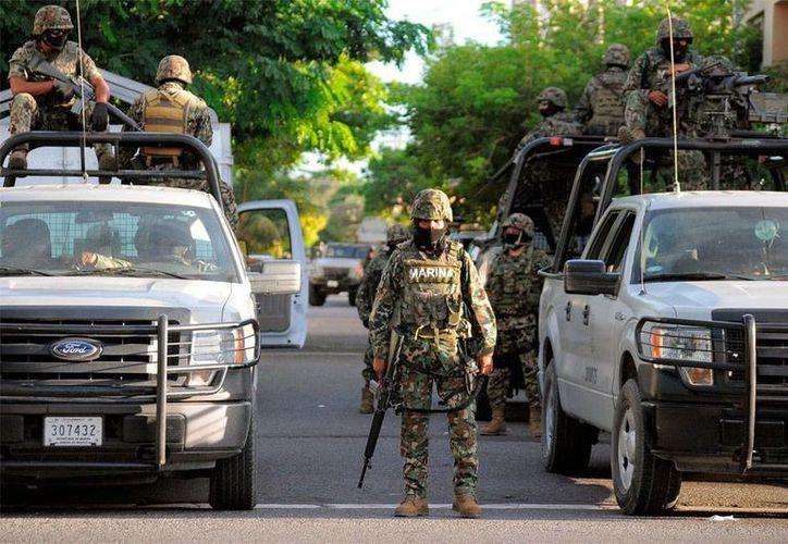 La Marina llegó a Tamaulipas literalmente a rescatar a la población no sólo del crimen organizado, sino de los propios policías. (Imagen de contexto/notinfomex.com.mx)