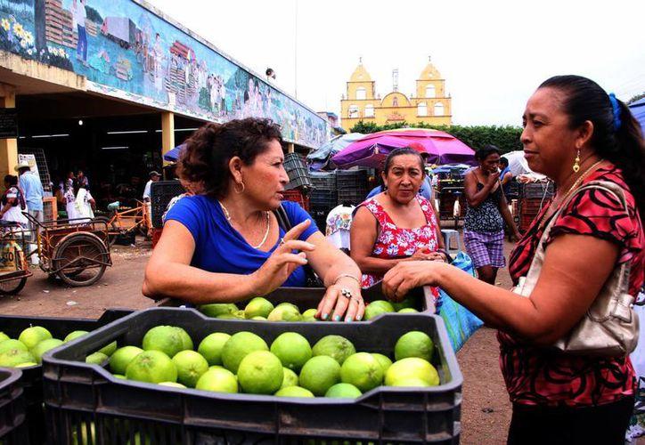 En enero el costo del kilogramo de limón era de 10.80 pesos, al mes de febrero este registró un incremento de 14.98 pesos, a finales de marzo el costo era de 17.50 pesos y ayer el precio osciló en los 26.50 pesos. (Milenio Novedades)