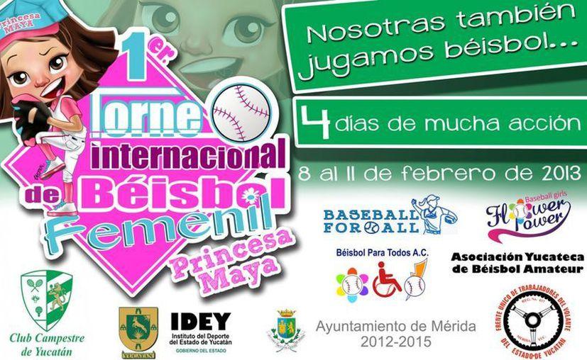 Equipos de EU, Baja California, Quintana Roo, Jalisco y por supuesto, Yucatán participarán en la Copa 'Princesa Maya'. (Facebook oficial)