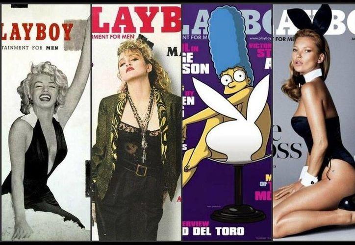 Bellas mujeres de varias partes del mundo, e incluso personajes animados, posaron para la revista Playboy. (Foto especial)