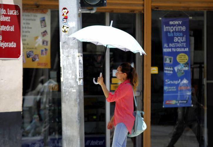 Para los próximos días se esperan temperaturas de entre 35 y 40 grados. (SIPSE)
