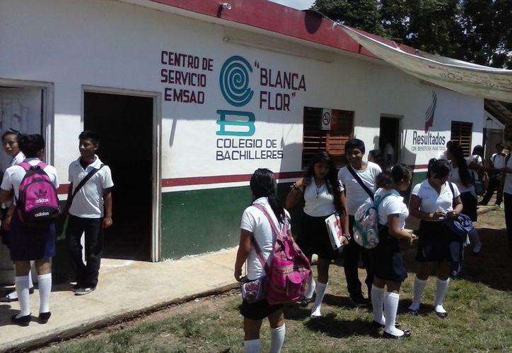 Presuntamente no es el primer caso de acoso hacia una alumna del mismo plantel en Bacalar. (Foto: Javier Ortiz)