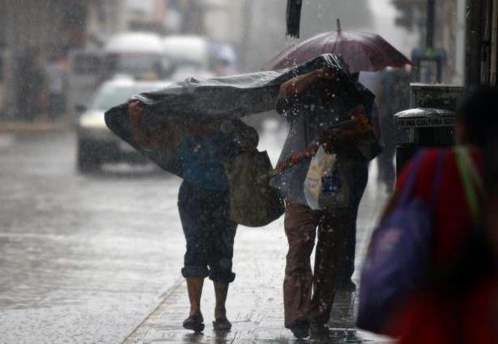 Alrededor de las 17:00 horas las autoridades reportaron una lluvia de 1.3 mm en la ciudad con rachas de vientos de hasta de 36 kilómetros por hora. (Archivo/SIPSE)