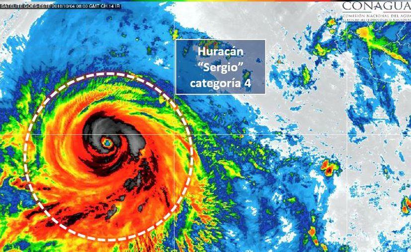 Esto rompe el récord histórico del 2015 de siete huracanes categoría cuatro en una temporada para el Pacífico del Este. (Conagua)