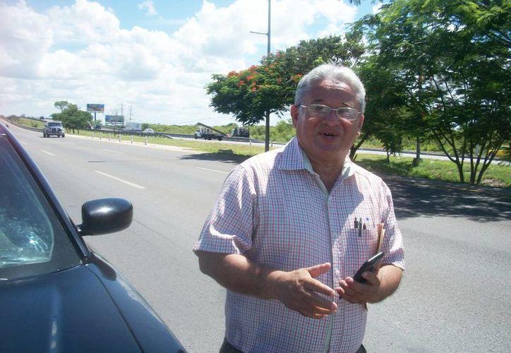 La Policía estatal levantó la multa correspondiente al alcalde de Dzilam González, José Concepción Martín Heredia, por ir a exceso de velocidad en el anillo periférico. (Milenio Novedades)