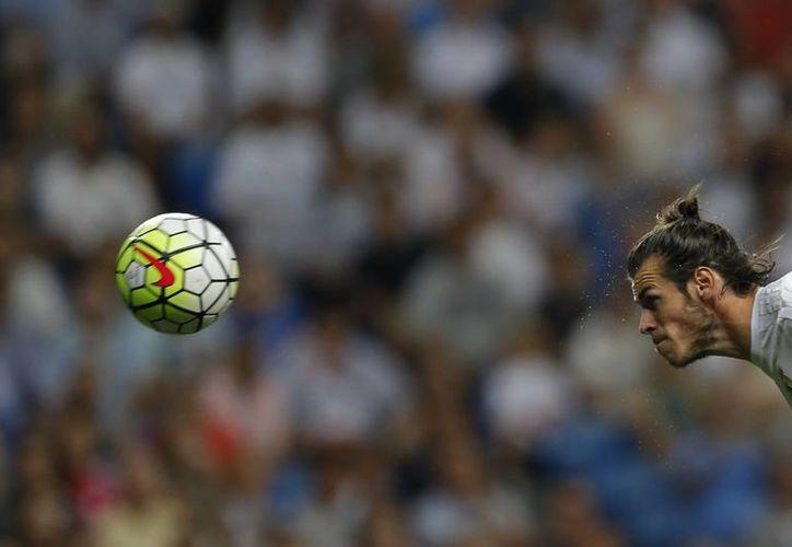 Gareth Bale anotó y así Gales venció 1-0 a Chipre en partido de eliminatoria rumbo a la Eurocopa del año próximo. En la foto, Bale anota a favor de Real Madrid vs Betis. (Foto: AP)