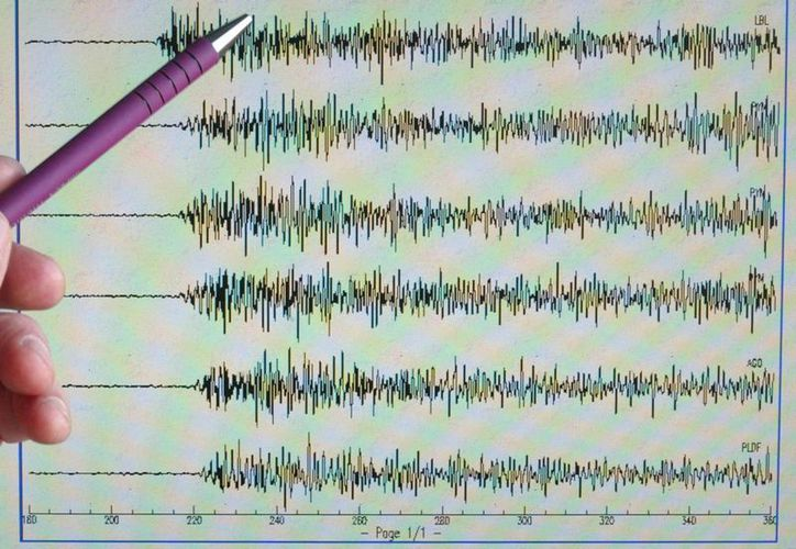 El terremoto tuvo una magnitud de 4.9. (Archivo/EFE)