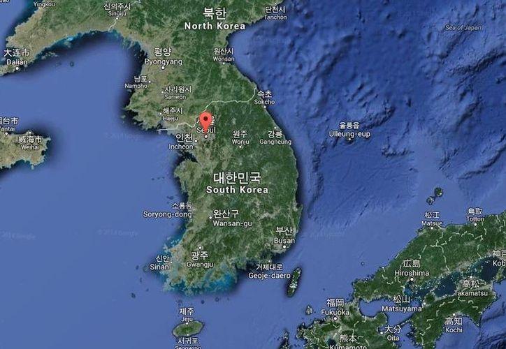 Acerca de la supuesta explosión en una estación de trenes cercana a Seúl, se dio a conocer que se dañó parte de la instalación eléctrica. (Google Maps)