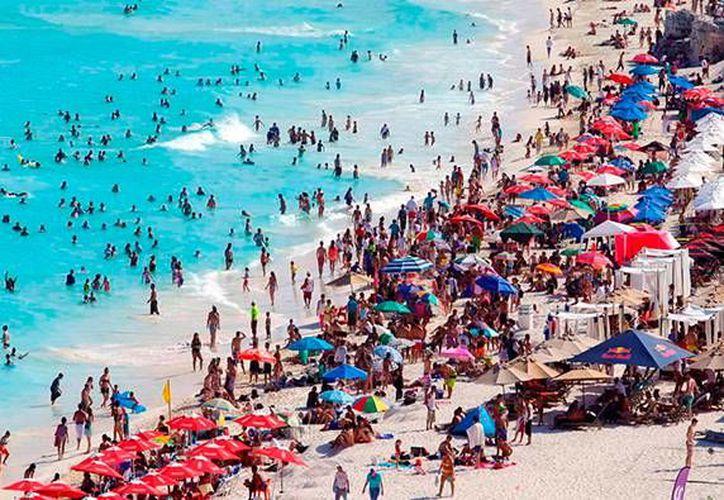 Quintana Roo recibe la misma cantidad de turistas internacionales que Brasil y Argentina juntos. (Contexto/Internet)