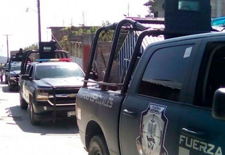 Se encontraron la localidad La Laguna, aproximadamente 850 cartuchos percutidos de diferentes calibres. (Foto: Excélsior)