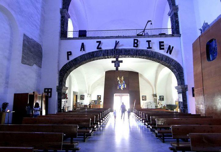 Iglesia de Santiago Apóstol en México. (Notimex)