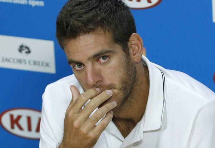 Del Potro espera volver a jugar en los torneos Indian Wells y el Abierto de Miami, en marzo próximo. (EFE)