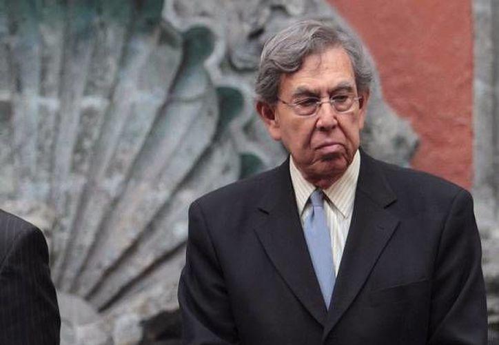 Cuauhtémoc Cárdenas: hay que deslindar responsabilidades en el caso de los 21 mil 725 millones de pesos, que es el monto que adeuda Pemex. (Notimex)