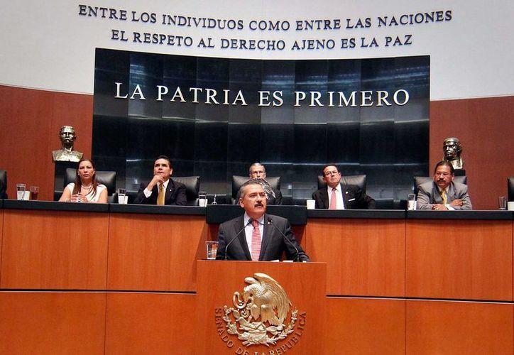 Manlio Fabio Beltrones ha ocupado diversos cargos públicos durante 40 años: ha sido legislador, funcionario, gobernador y dirigente del PRI. (Twitter: @altonivel)