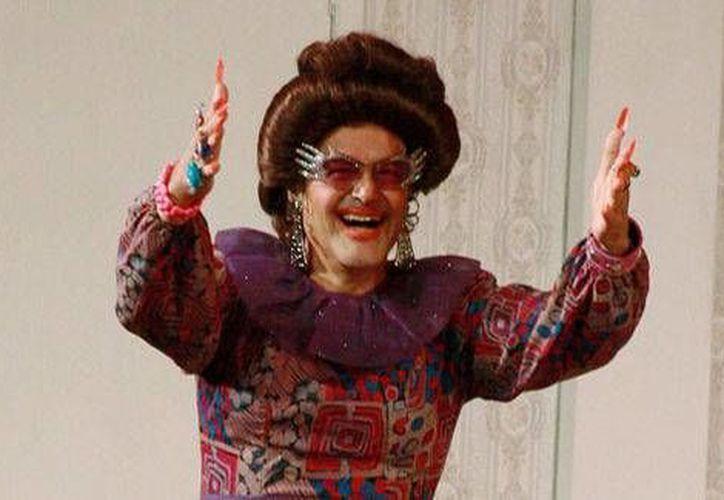 Gonzalo Vega y su obra de 'La señora presidenta' se representó 17 años y se volvió un clásico popular en todo México. (Foto tomada de Milenio Digital)