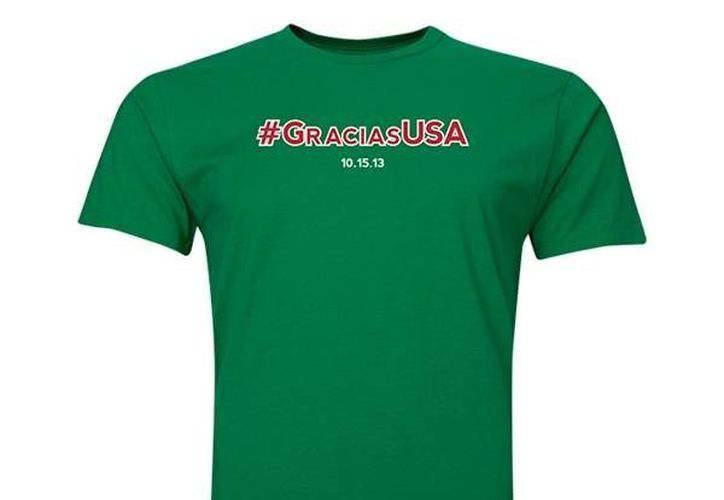 La terrible eliminatoria mexicana resultó una oportunidad de negocio con esta playera. (worldsoccershop.com)