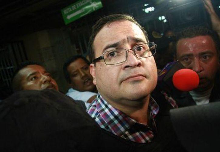 Javier Duarte decidió cambiar de abogados en Guatemala. (Milenio)