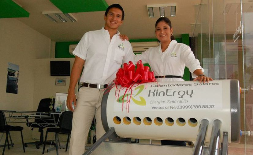 Nayelli Hernández Crespo y Jorge García Rodríguez ofrecen su experiencia laboral a nuevos emprendedores. (Milenio Novedades)