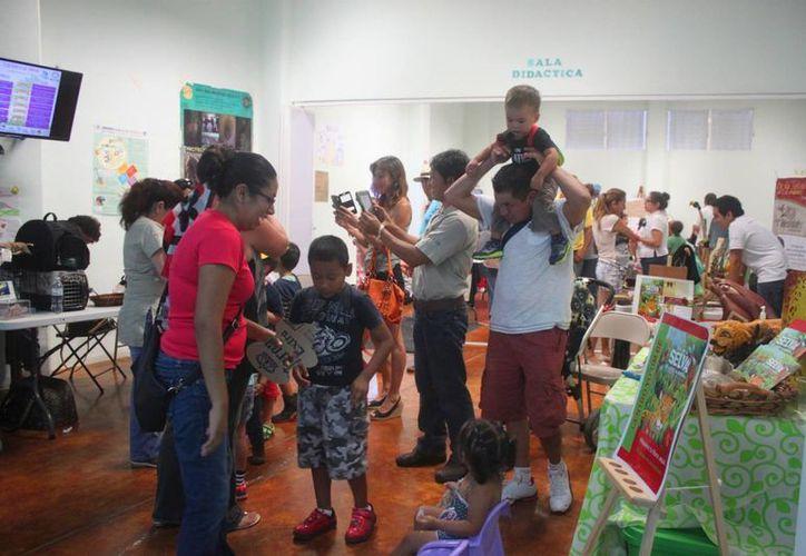 El sábado se realizó el primer Festival del Medio Ambiente en el Planetario de Playa del Carmen. (Daniel Pacheco/SIPSE)