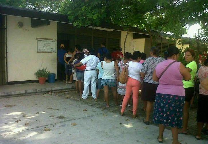 La poca participación de los jóvenes también se registra en otras secciones. (Alejandra Galicia/SIPSE)