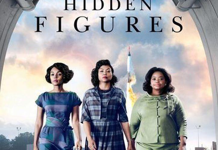 La cinta 'Talentos Ocultos' recaudó 20.5 millones de dólares en las salas de cines de EU y Canadá, durante el fin de semana. (Archivo/Agencias)