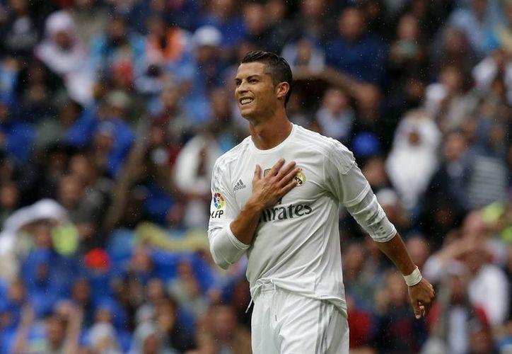 Cristiano Ronaldo anotó un tanto ante Levante y llegó esta tarde a 324 goles con Real Madrid, para ser su máximo goleador histórico en todas las competencias. (AP)