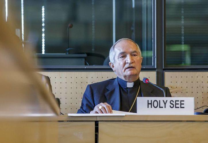 El arzobispo Silvano M. Tomasi, nuncio apostólico y observador permanente de la Santa Sede en la oficina de las Naciones Unidas en Ginebra. (Agencias)