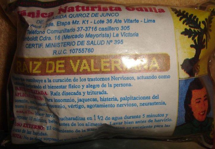 La valeriana, a pesar de parecer inofensiva, afirman causaría adicciones. (Internet)