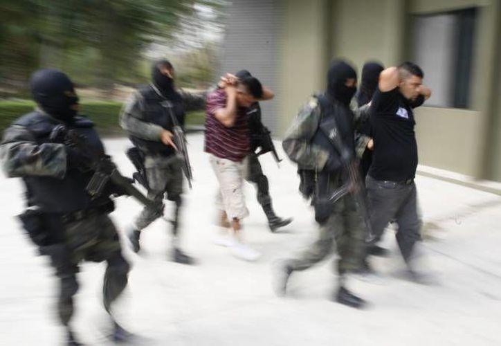 El operativo que permitió desmantelar a la banda de plagiarios se realizó en La Rinconada, Michoacán. (Agencias/Contexto)