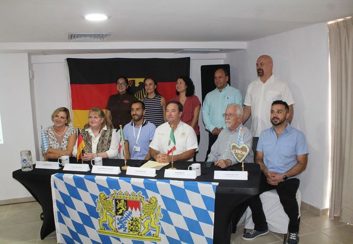Los organizadores presentaron la edición caribeña de Oktoberfest. (Karim Moisés/SIPSE)