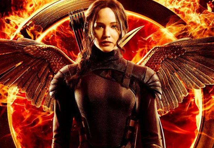 Jennifer Lawrence interpreta a Imagen de la actriz Jennifer Lawrence quien interpreta a Katniss Everdeen en Los Juegos del Hambre. (Lionsgate)
